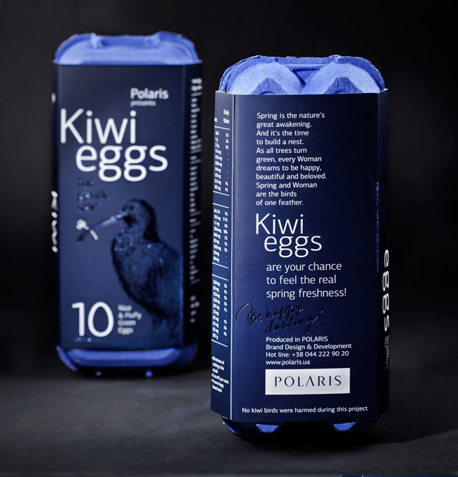 regalo corporativo packagin huevos de kiwi