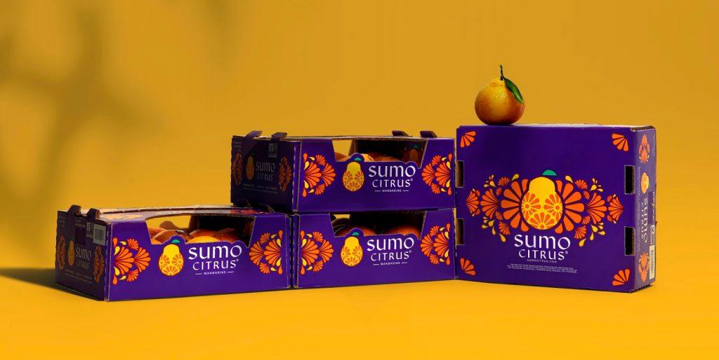 sumo citrus diseño gráfico