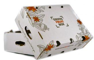 caja e-commerce exotic fruit box